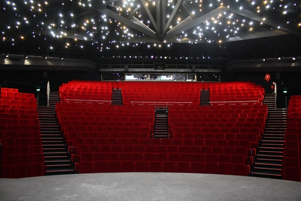 Grand cinéma vue de salle