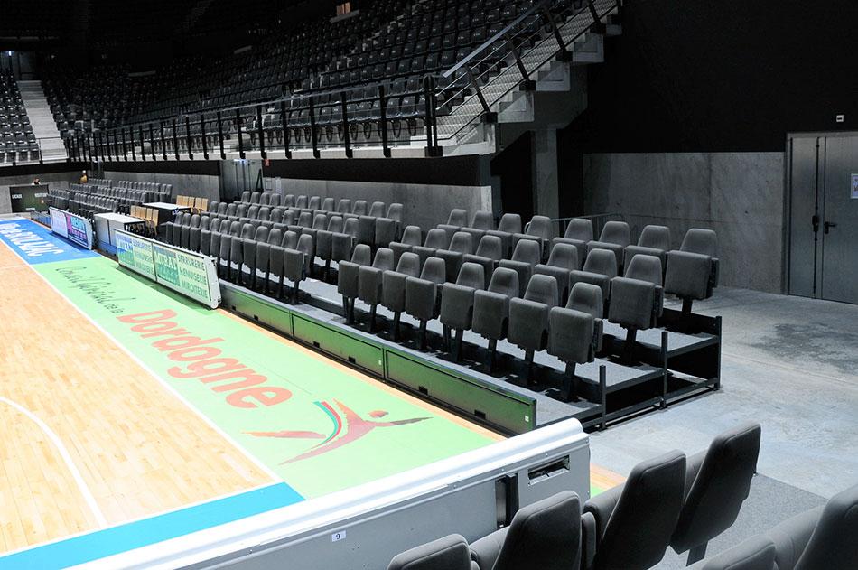 Salle de sport et concerts