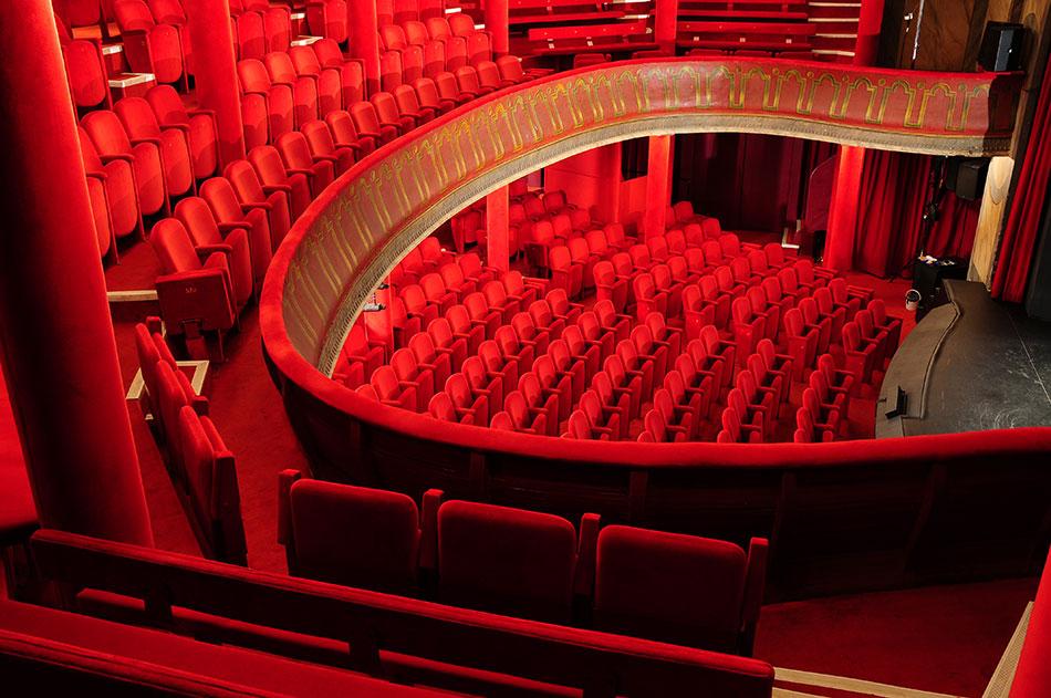 Salle de spectacles théâtre