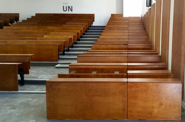 Salle de cours amphithéâre