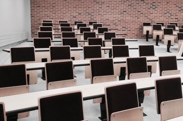 Salle de cours universitaire