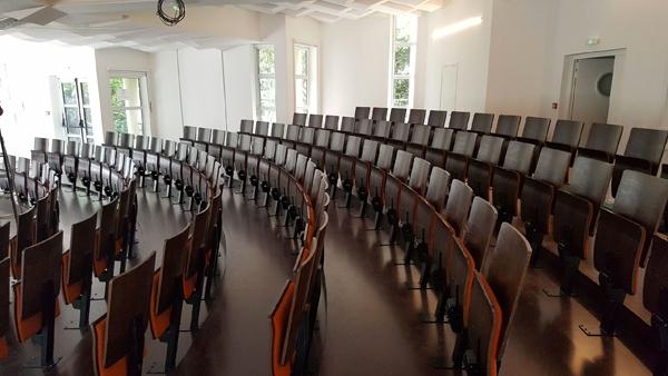 Salle de conférence arrondie